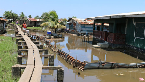 Sub-Saharan Africa Coastal Cities Flood Risk Profile For Greater Monrovia