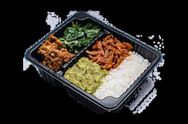 Nasi Padang Beef Rendang