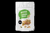 Nutty Caramel Crisps