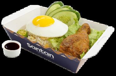 Chicken Inasal Garlic Rice