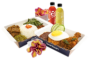 Santan Value Meal for 2