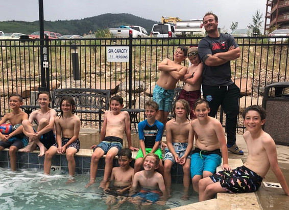 08 boys swimming after games