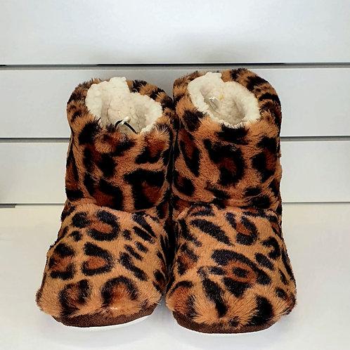 Pantoufle léopard