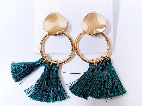 Boucles d'oreilles pompoms