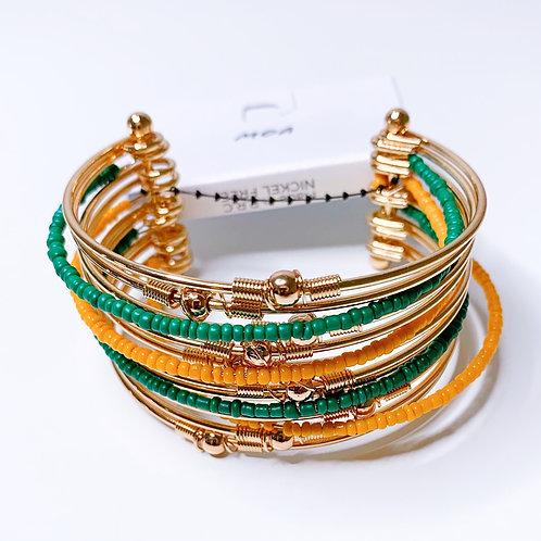 Bracelet manchette multi