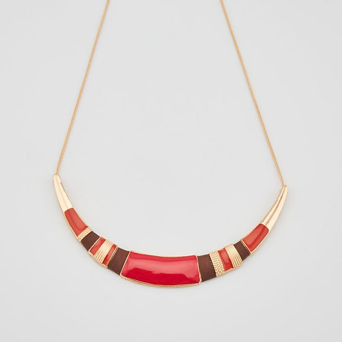 Collier Lune multicolor