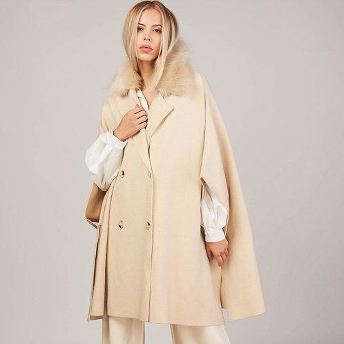 Poncho manteau