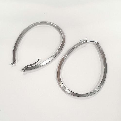 Boucles d'oreilles gouttes  acier inoxydable