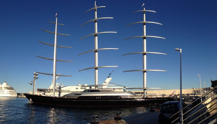 Maltese Falcon at Monaco