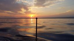 Sunset to Frejus