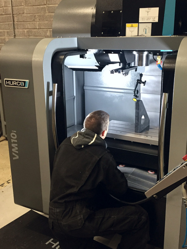 MTL invest in new Hurco machining centre