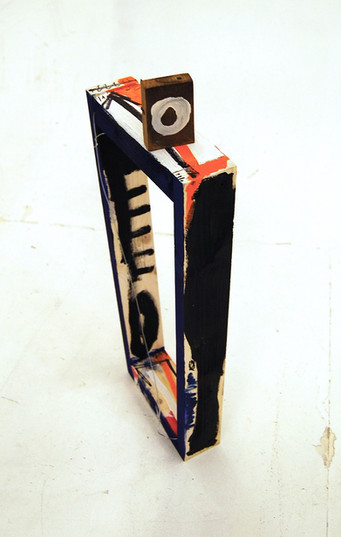 'Floor object with addition' 2 Wood,acry