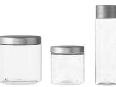 NOUVELLES VERRINES en verre ou plastique