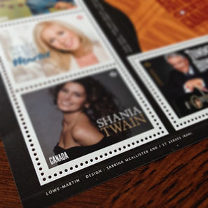 Red Deer Graphic Designers, Graphic Design + Stamps, Quarter Section Creative