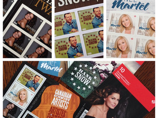 Graphic Designer puts her stamp on country music stars