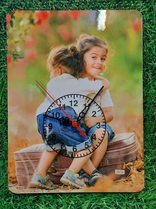 מעמד עם תמונה+ שעון