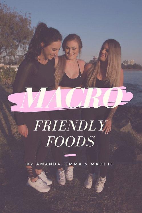 Macro Friendly Foods eBook