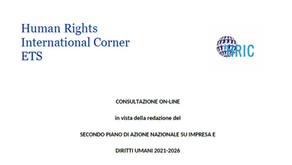 Il nostro contributo alla consultazione del PAN italiano 2021-2026