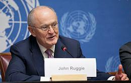 In memory of Prof. J. G. Ruggie (1944-2021)