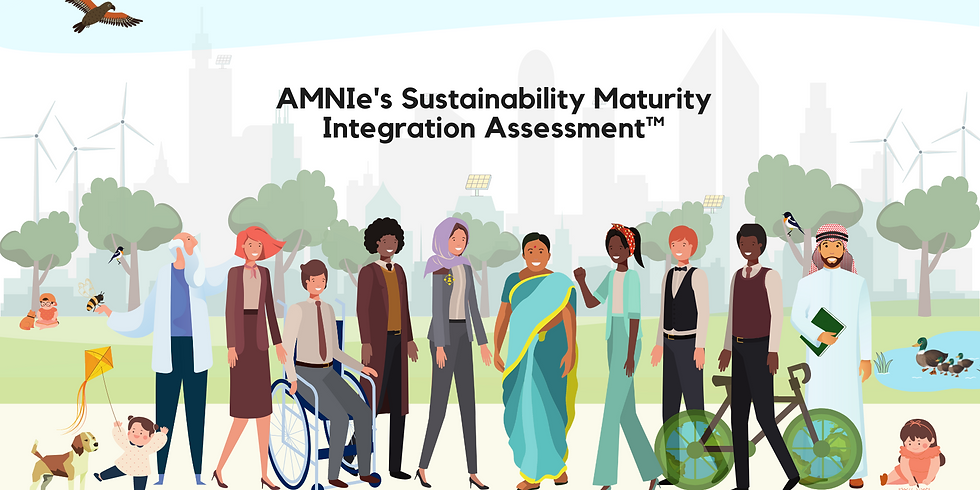 AMNIe's Sustainability Maturity Assessment ™