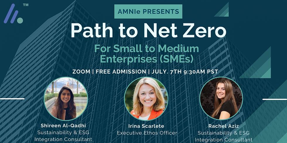 Path to Net Zero For SMEs