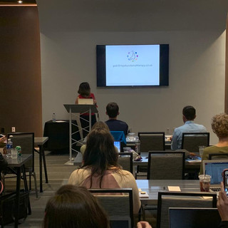 Lecturing in Dallas, USA for MyoMunchee