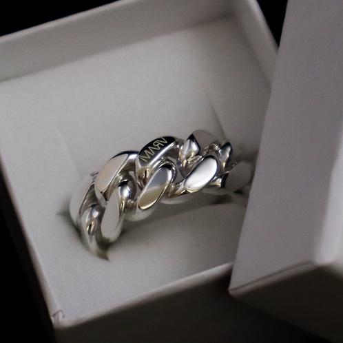 MARV CUBAN LINK RING