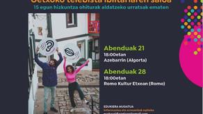EUSKARALDIA Getxon 2020 urtea   Arigune, Irribizi 😆,Belarriprest 👂 eta Ahobiziak 👄
