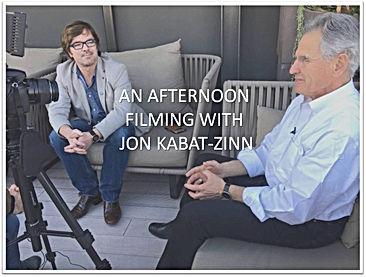 Ian Matthews meets Jon Kabat-Zinn in Barcelona