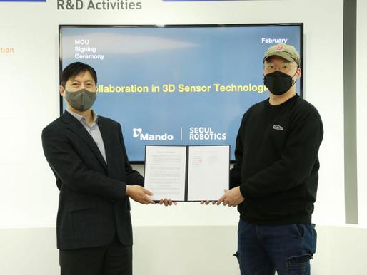Mando and Seoul Robotics Partner to Develop 3D LiDAR, 4D Imaging Radar