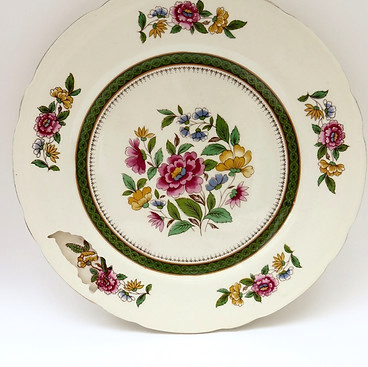 EMBROIDERED PLATE 1