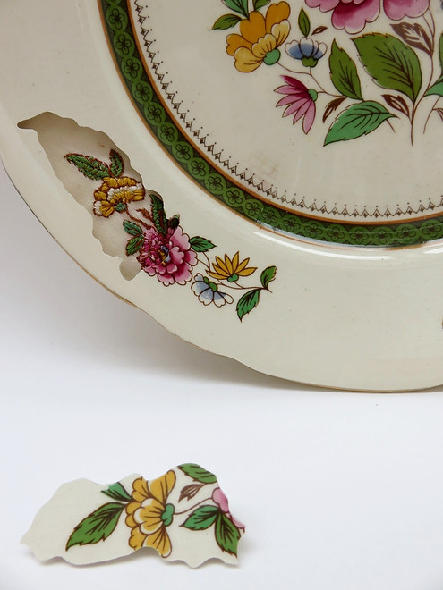 EMBROIDERED PLATES