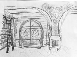 Hearth Sketch