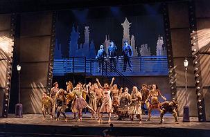 Performance in UVA Drama's Urinetown the Musical