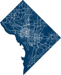 DC Bike Path Map
