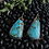 Thumbnail: Turquoise Drop Earrings