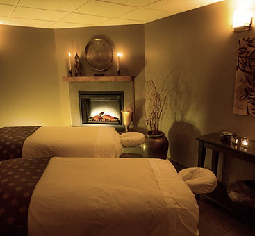 Canmore spa couples massage