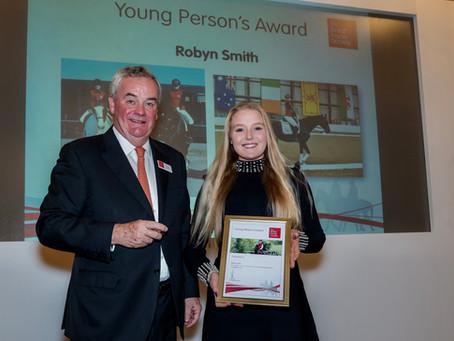 Robyn Smith wins big at BHS & BD Awards 2019!