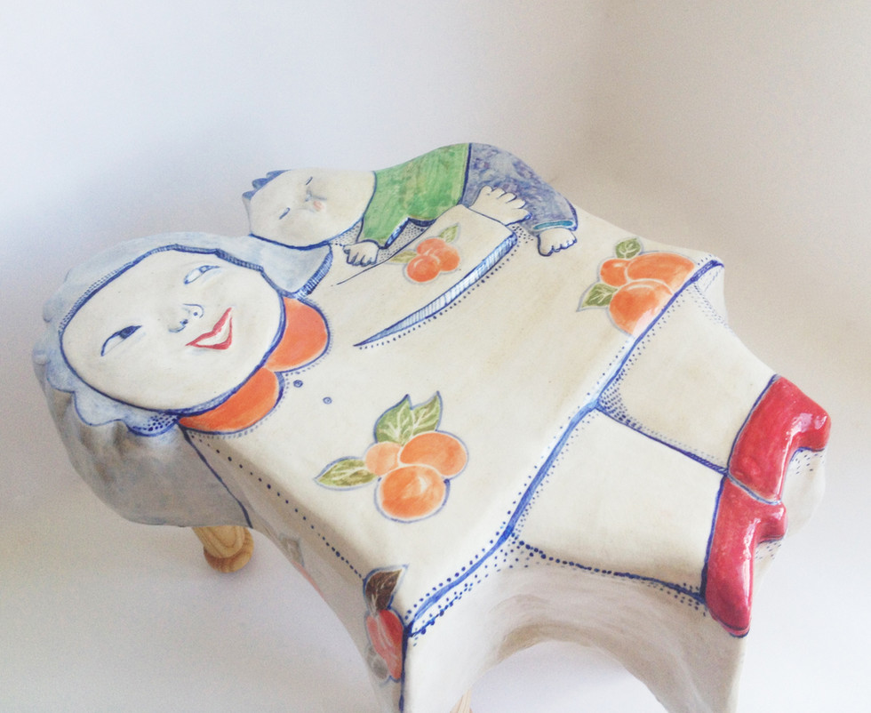 Uh-boo-ba stool