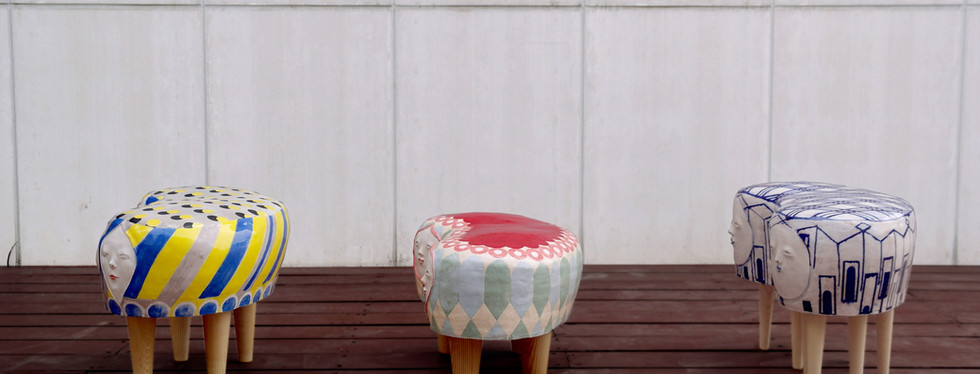 Face stool series