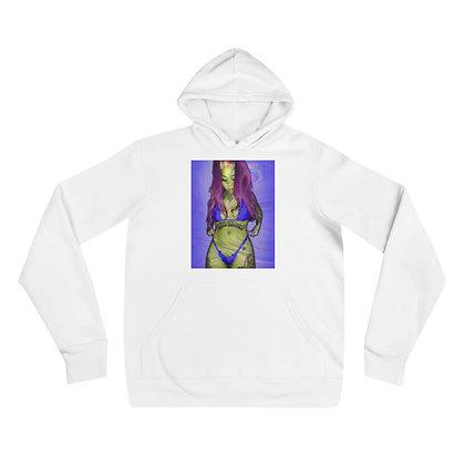 Neon Purple Unisex hoodie