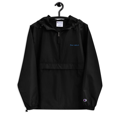 Boot World Embroidered Champion Packable Jacket