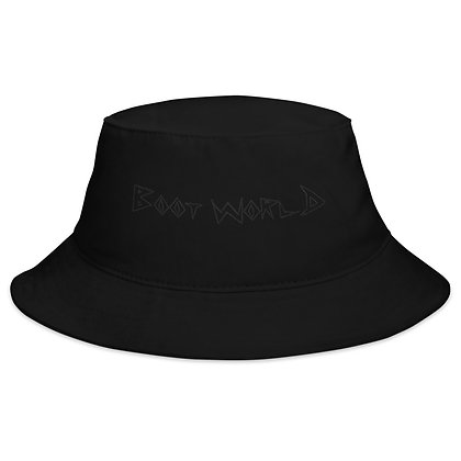 Black on Black Bucket Hat