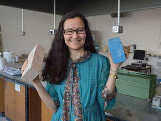Heriot-Watt researchers develop 'world first' recycled brick