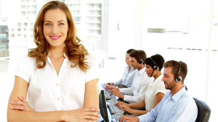 What are the hallmarks of a successful call centre manager?