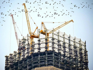 Construction growth slows as industry hit by rapid cost inflation