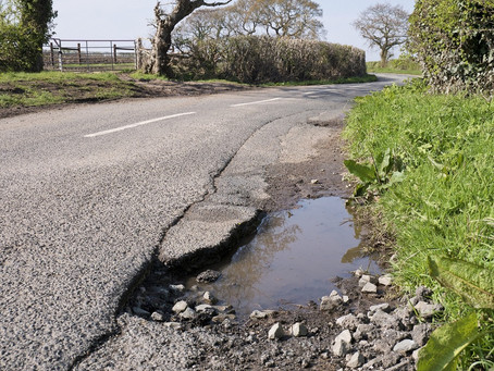 Potholes a growing concern for drivers