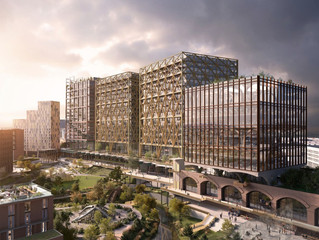 Work begins at the Manchester Mayfield scheme