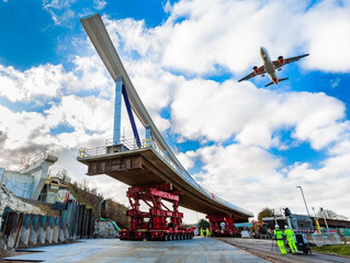 1,000 tonne Luton DART bridge opens