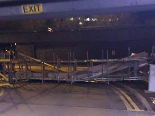 Company fined £15,000 after scaffolding collapses